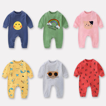 Cotton Baby Rompers Newborn Baby Boys Clothes Toddler Jumpsuit Bebes Rompers For Baby Boy Girl Clothing Children Romper cheap Fashion Unisex cartoon Short Fits true to size take your normal size O-Neck