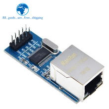 ENC28J60 moduł sieciowy interfejsu SPI moduł ethernetowy (wersja mini) dla arduino