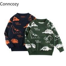 Kids Dinosaur Sweater Korean Children's Winter Clothing Baby Knit Clothes Boys Sweaters Children Girls Sweaters Toddler Sueter
