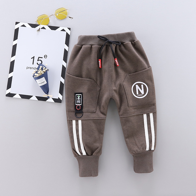 Autumn Fashion Boys Slim Straight Trousers 100% Cotton Good Quality Baby Boy Pants Girls Casual Pants 0-3 Year Baby Pants