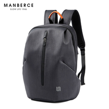 MANBERCE 2019new Laptop Backpack USB Charging 15.6 Inch Theft School Bags Teenage Girls Travel Male Free Shipping