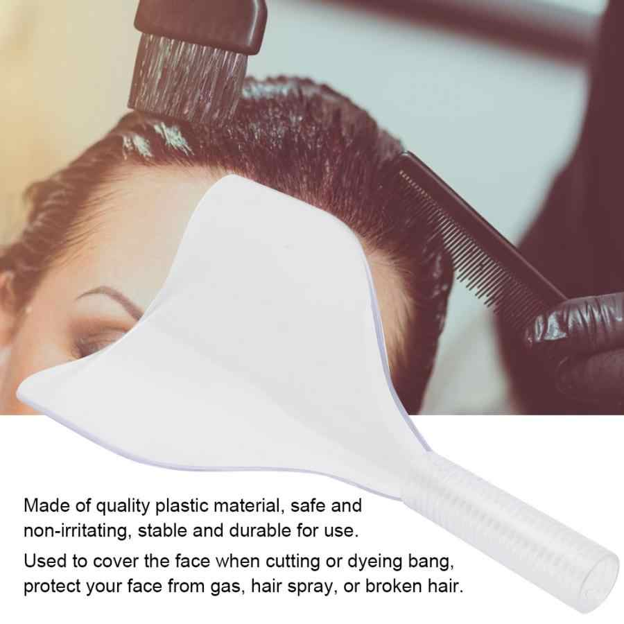 Professional Accessories Hairdresser Hairdressing Face Mask Cover Hair Spray Bang Cutting Dyeing Protector Shield Curly Hair