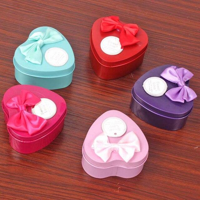 3Pcs Heart Scented Bath Body Petal Rose Flower Soap Wedding Decoration Gift Best 4