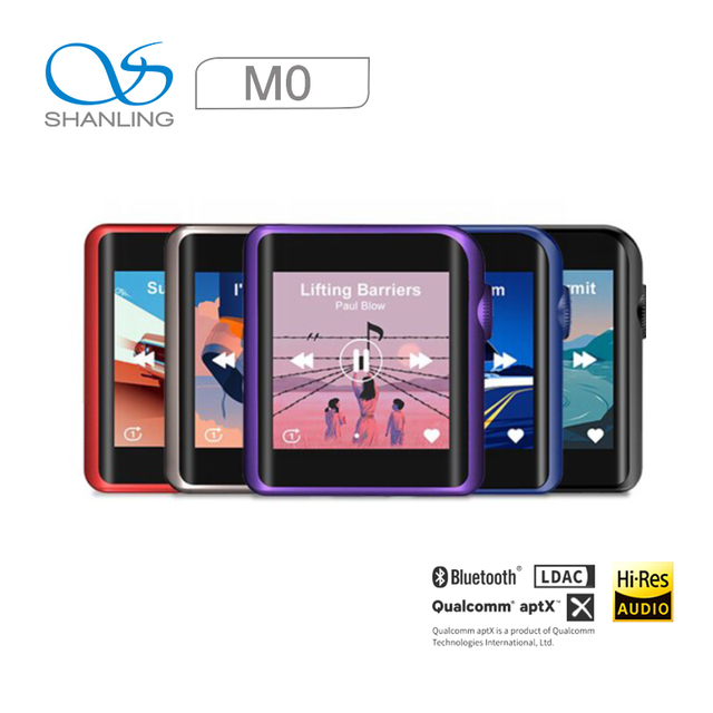 Shanling M0 Hi-Res Portable Music player Bluetooth Touch Screen 1
