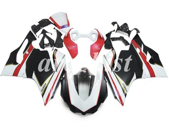 New ABS Injection Mold Body set Fairing For Ducati 899 1199 Panigale 2012 2013 2014 Motorcycle Full Fairings Kit Black white
