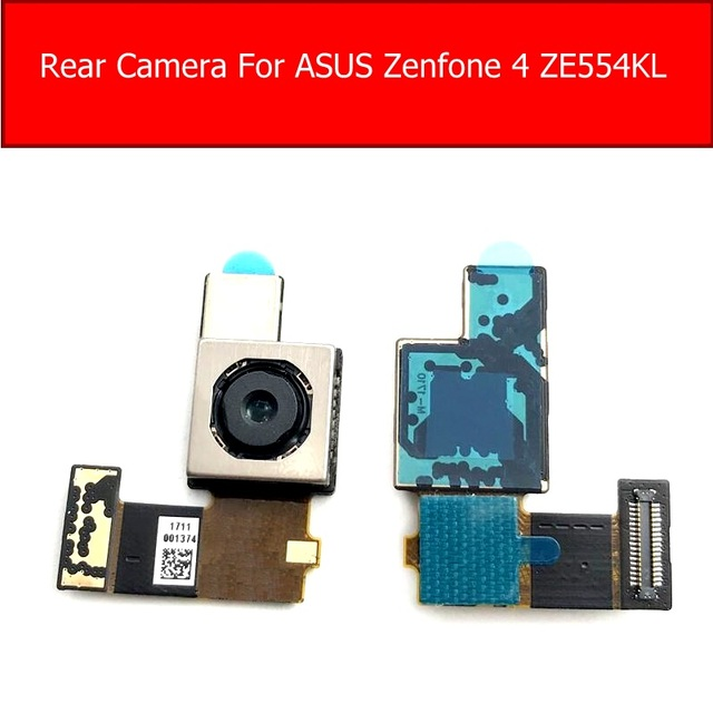 Rear Main Camera For ASUS ZenFone 4 ZE554KL Back Big Camera With Flex Cable Replacement Parts