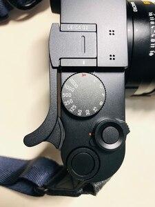 Image 4 - سبائك الألومنيوم الإبهام مقبض معدني الإبهام قبضة الحذاء الساخن غطاء منصب الكاميرا ل ايكا Q2 Q الطباع 116 أسود أحمر