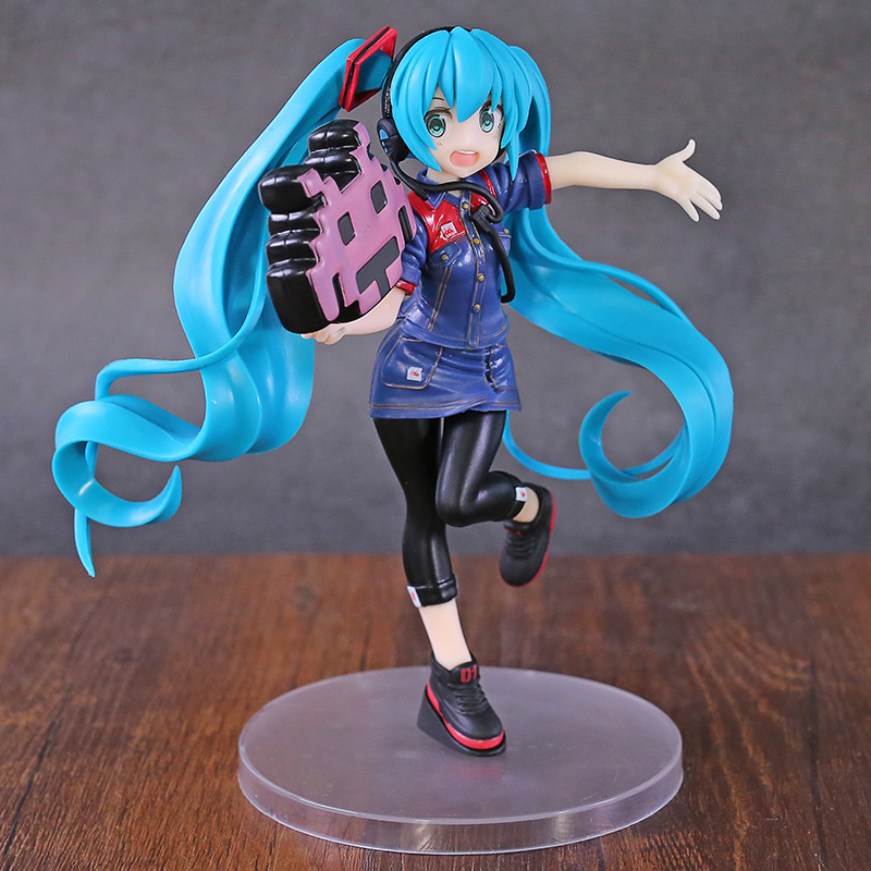Hatsune Miku Vocaloid vol.2 2019 Uniform Ver. PVC Figure Collectible Model Toy