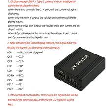 Module de charge rapide pour téléphone portable 2021, nouveau modèle XY PDS100 QC4.0 QC3.0 type c 100W
