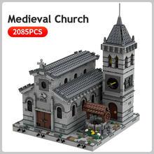 Средневековая церковь строительные блоки Всемирно известная