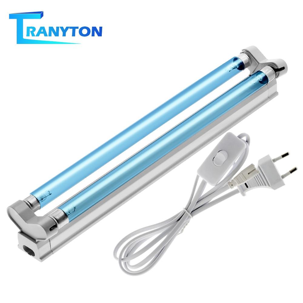 Lumière germicide ultraviolette T5 Double Tube 16W UVC UVD stérilisateur lampe générateur dozone désinfection déodorante barre Tube