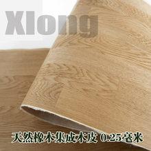 L:2.5Meters Width:400mm Thickness:0.45mm Natural Oak Solid Wood Skin American Oak Natural Splicing Wood Skin стоимость
