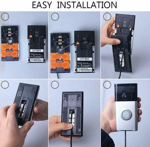 Image 3 - Panel Solar para timbre de vídeo, 1 (1ª generación) 2016, carga a prueba de agua, salida de 5 V, 3,2 W (Max)