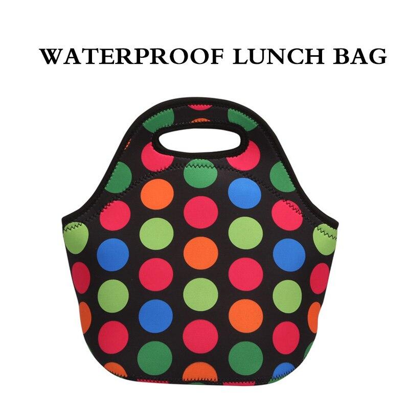 Bolsa de Almoço Portátil à Prova Água para as Crianças dos Homens Bolsa de Lona Novo Dwaterproof Refrigerador Lancheira Comida Isolamento Bolsa Térmica