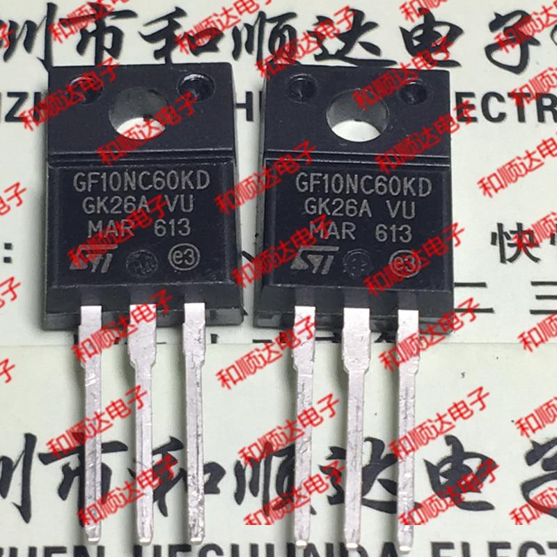 Новинка (5 шт.) STGF10NC60KD GF10NC60KD TO-220F 600 в 10A