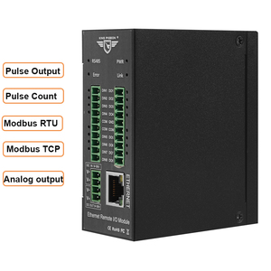 Image 1 - Modbus TCP Ethernet Remote IO Module for Fieldbus Automation Built in Watchdog Supports register mapping M120T