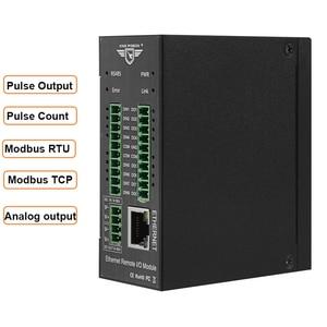 Image 1 - Modbus Tcp Ethernet Remote Io Module Voor Veldbus Automatisering Ingebouwde Watchdog Ondersteunt Register Mapping M120T
