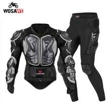 WOSAWE – veste de Moto pour hommes, pantalon de course fantôme, équipement de protection, combinaison de Motocross