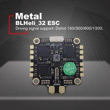 HAKRC ESC 4-в-1 50A с диагональю экрана 3-6S BLHeli_32 5V 3A BEC Dshot1200 мини Размеры ESC для DIY небольшой гоночный Дрон с видом от первого лица с отводом тепла