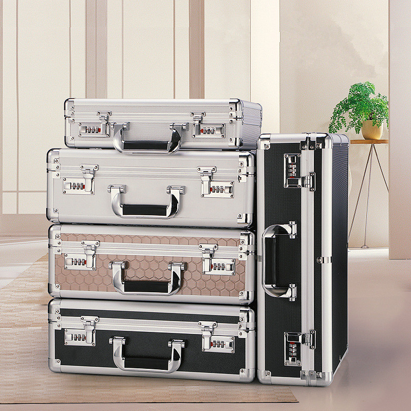 Portable Password Safe Home Anti-Theft Dormitory Small Mini Family Storage Box Portable Portable Micro Cabinet(Small)
