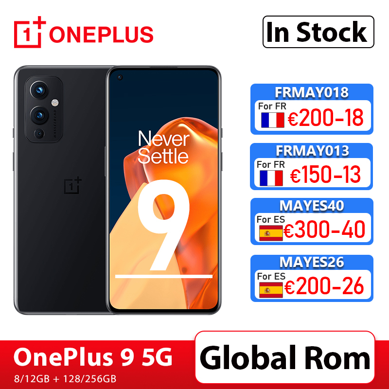 Global Rom OnePlus 9 5G Snapdragon 888 8GB 128GB Smartphone 6.5'' 120Hz Fluid AMOLED Hasselblad Camera OnePlus Official Store 1