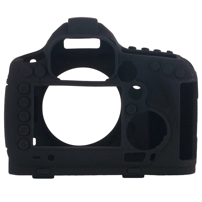 Silicone Rubber Camera Housing Case for Canon 5D Mark Iii 5D3 Detachable Anti Scratch Shockproof Full Body Protective Rubber Cov|Camera/Video Bags| |  - title=