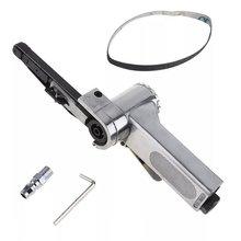 New Industrial Grade Pneumatic Belt Machine 10Mm Pneumatic Grinding Machine Belt Machine Polishing Machine