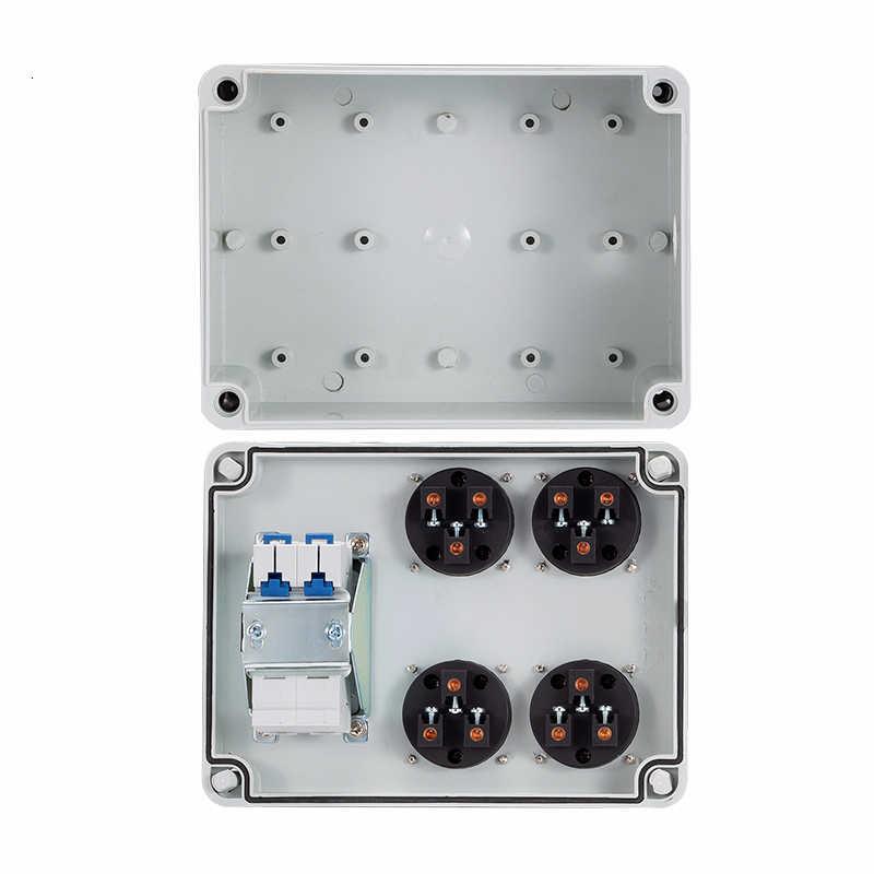 Наружная розетка для дождевой воды с тремя отверстиями 10A домашняя настенная многофункциональная наружная розетка электрическая автомобильная зарядка