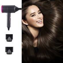 цена на Hair Dryer Strong Wind Professional Hair dryer Salon Dryer Hot &Cold Wind Negative Ionic Hammer Blower Dry  Electric Hair dryer