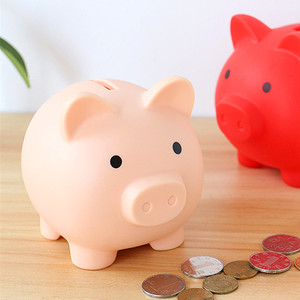 Cartoon Pig Money Bank Coins Storage Box Kids Toys Birthday Gift Home Decor Money Saving Boxes Children Piggy Money Bank