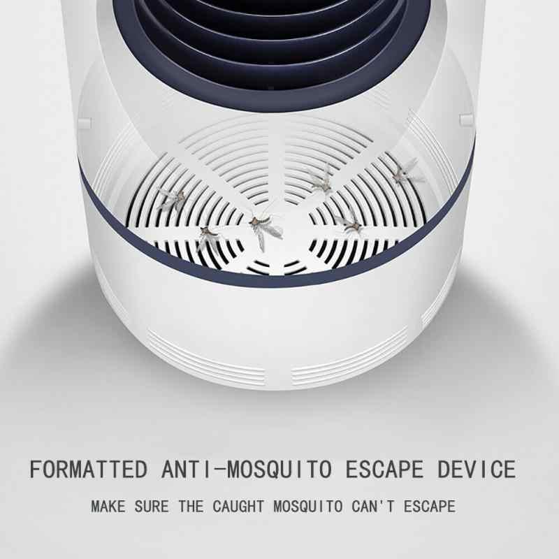 1pcs USB יתושים רוצח LED אולטרה סגול אור אלקטרוניקה Photocatalyst מלכודת מנורת USB שקט הרג דוחי מזיקים אורות חדש