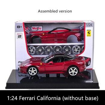 Maisto 1:24 Ferrari California  assembled DIY die-casting model car toy new collection boy