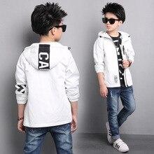 בני מעיל סתיו בגדי ילדים 2019 חדש סגנון ילד מעיל ילד גדול קוריאני סגנון טרנץ מעילי אביב בגיל ההתבגרות ספורט 15Yrs
