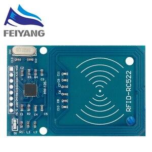 Image 3 - 10 chiếc MFRC 522 RC 522 RC522 Ăng Ten RFID IC mạng Không Dây Cho Arduino IC KHÓA SPI Nhà Văn Đầu Đọc Thẻ IC Gần mô đun