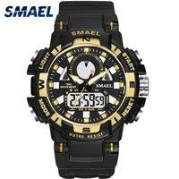 SMAEL-reloj deportivo para niños, pulsera con cronómetro, resistente al agua, Digital, 1557B