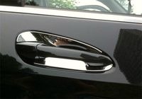Chrome Door Handle Inserts Cup Bowls For Mercedes-Benz C GLK Class W204