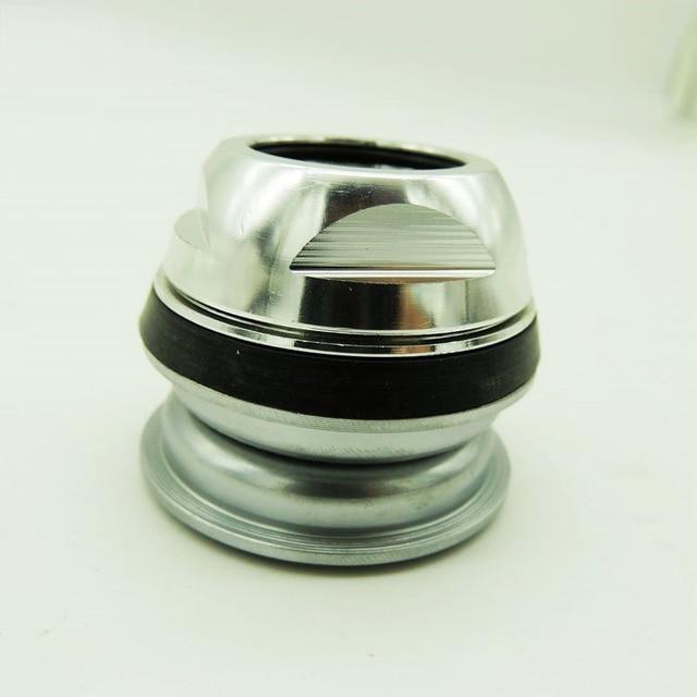 28.6mm fourche avant de vélo pliante avec casque à dents 44mm intégré vtt vélo de voyage en alliage daluminium casque