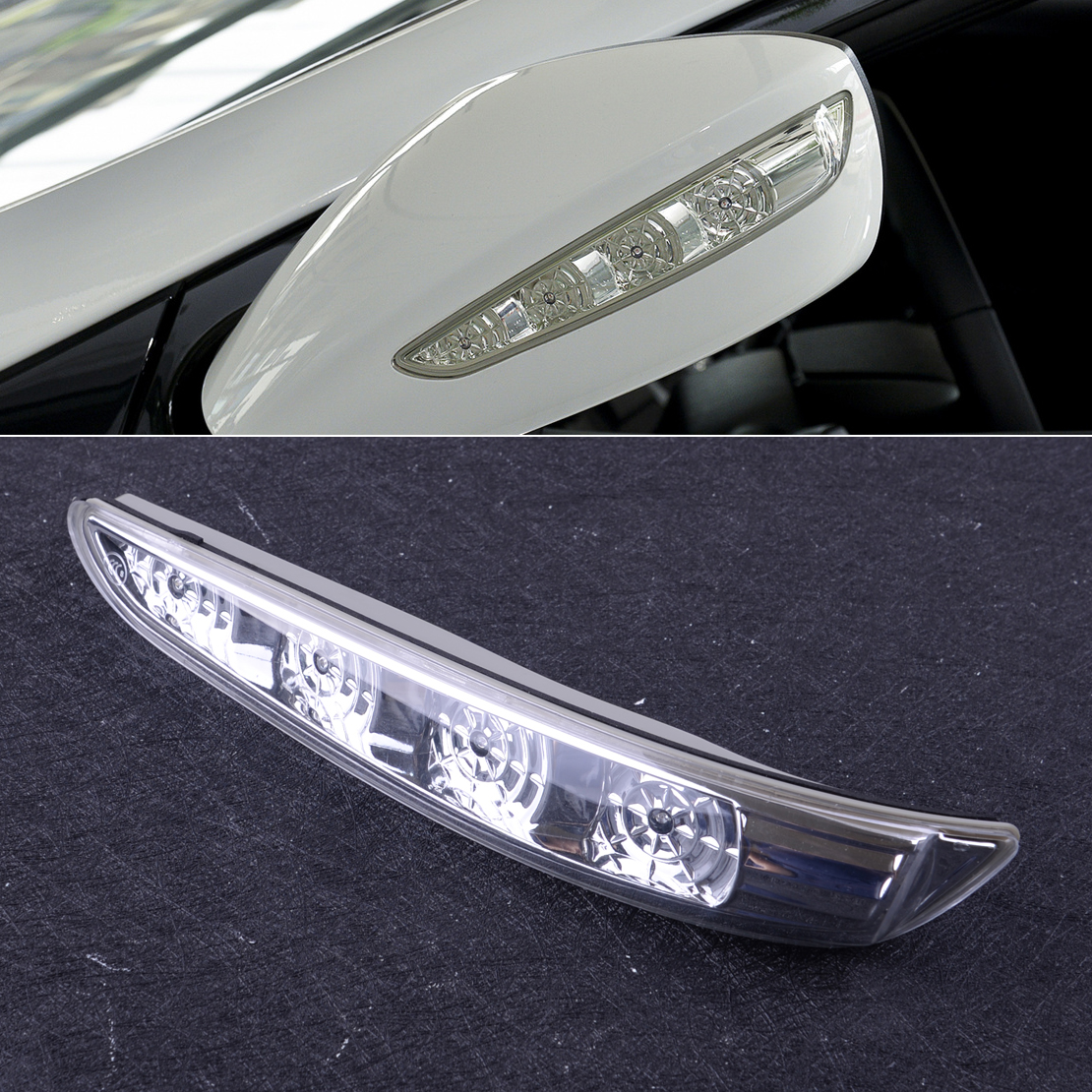 Left Mirror o Signal Light Lamp Assembly LH Side For Hyundai Sonata 2011-2014