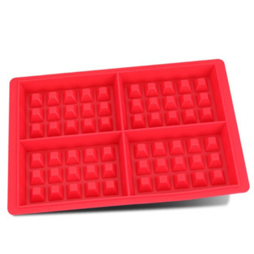 Hot Sales Waffle Makers For Kids Silicone Cake Mould Waffle Mould Silicone Bakeware Set Nonstick Silicone Baking Mold Set