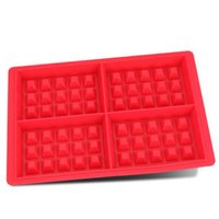 Hot sales Waffle Makers for Kids Silicone Cake Mould Waffle Mould Silicone Bakeware Set Nonstick Silicone Baking Mold Set|Waffle Molds| |  -