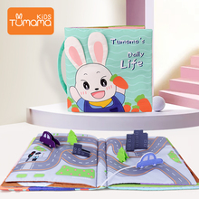 New Baby Toys Soft Cloth Books  3D Cloth Books Animals&Vehicle Newborn Stroller Hanging Toy Baby Early Learning Educational Toys