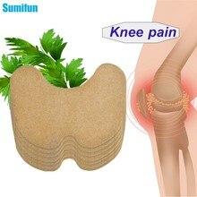 Sumifun 6 pçs dor na articulação do joelho gesso chinês absinto extrato adesivo para dor articular artrite reumatóide alívio da dor remendo