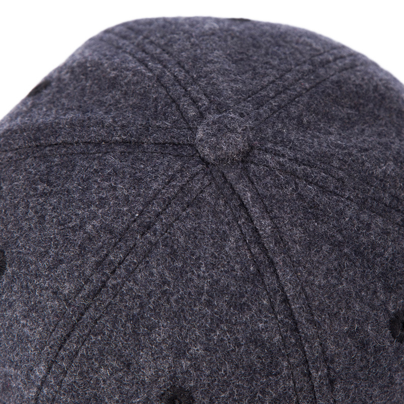 High Quality Winter Wool Hat Hip Hop Men Cap Solid Color Black Gray in Men 39 s Hip Hop Caps from Apparel Accessories