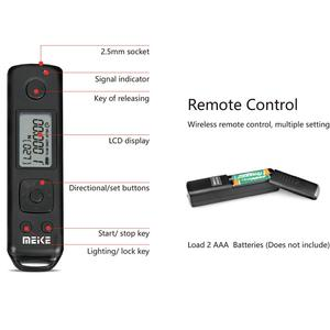 Image 5 - Meike MK A7R IV Pro Batterie Griff Für Sony a7RIV a7R4 a7IV a74 a9II Kamera Vertikale Shutter Wireless Remote