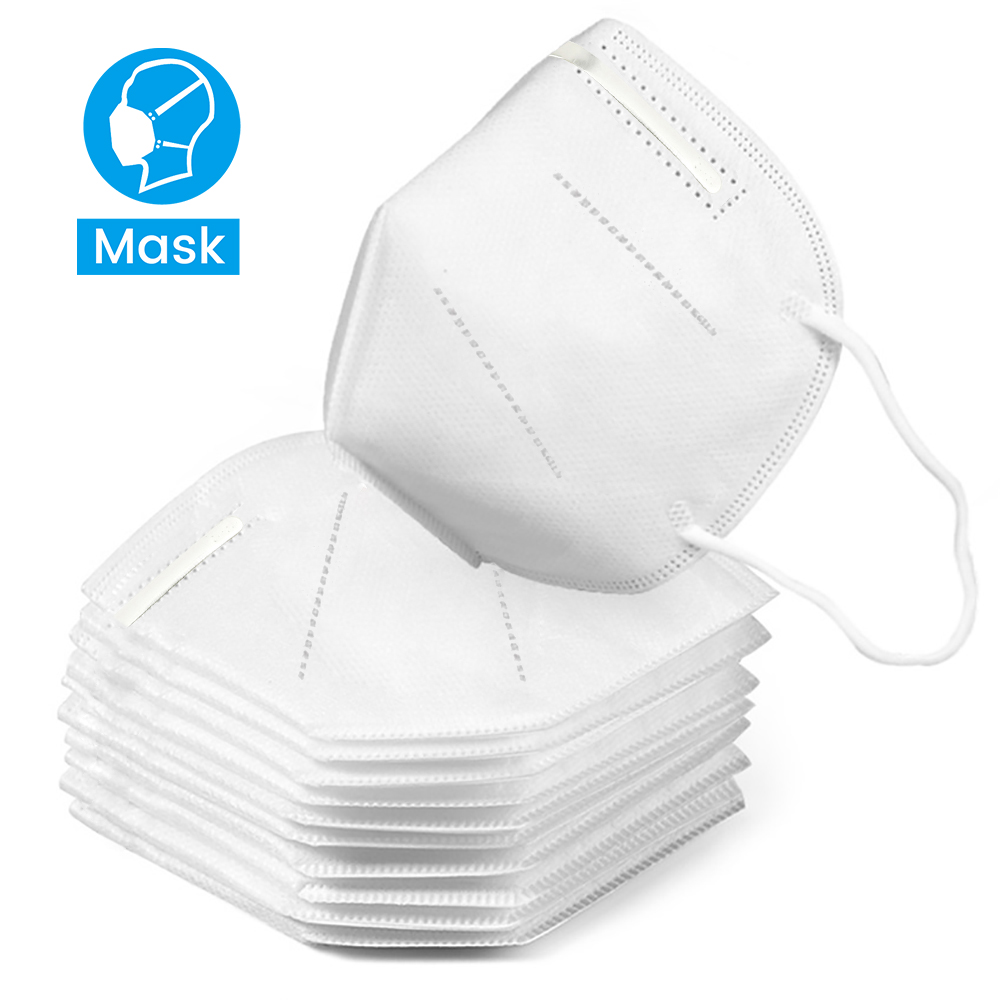 10 pcs KN95 Dustproof Anti-fog And Breathable Face Masks 95% Filtration Masks Features