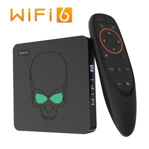 ТВ-приставка Beelink GT King, Android 9,0, Amlogic S922X, шестиядерная, G52, MP6, графика 4 Гб, LPDDR4, 64 Гб ПЗУ, Wi-Fi, 6, Bluetooth 4,1, 4K, 75 Гц