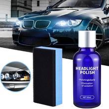 10ML 30ML Car Headlight Repair Coating Solution Kit Oxidation Rearview Polishing Anti-scratch Liquid