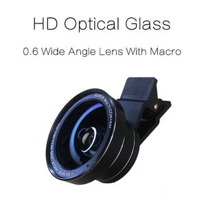 Image 2 - TOKOHANSUN Camera lens 4k HD 0.6x Wide Angle + 15x Macro Lens for IPhone 7 6s 5s 8 X XS se plus Mobile phone smartphone