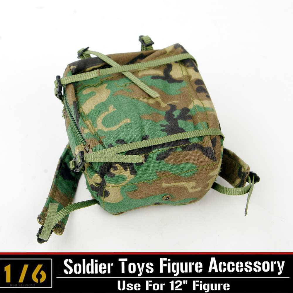 1/6 Schaal Camouflage Rugzak Model Army Marcheerden Backpack Soldier Accessoires F/12in. Action Figure Body Militaire Equipent