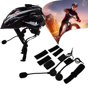 Bluetooth CSR5.0 Pro Motorcycle Helmet Bluetooth Headset Wireless Intercomunicador Anti Wind Noise Riding Cycling Interphone